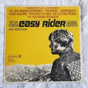 Easy Rider Soundtrack 1969 Vintage Vinyl Record